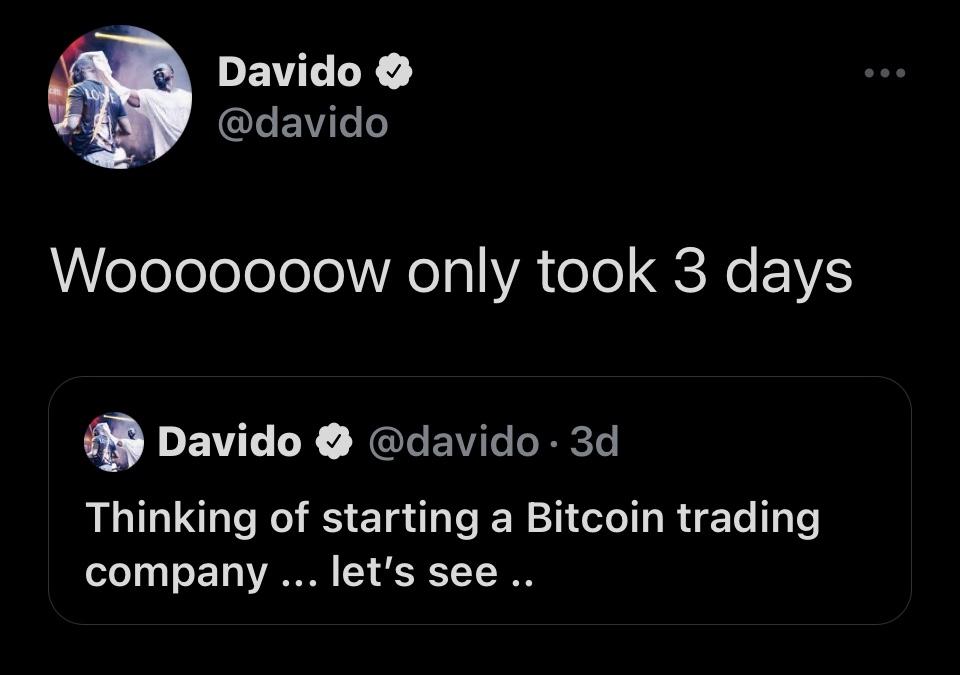 Davido twitter