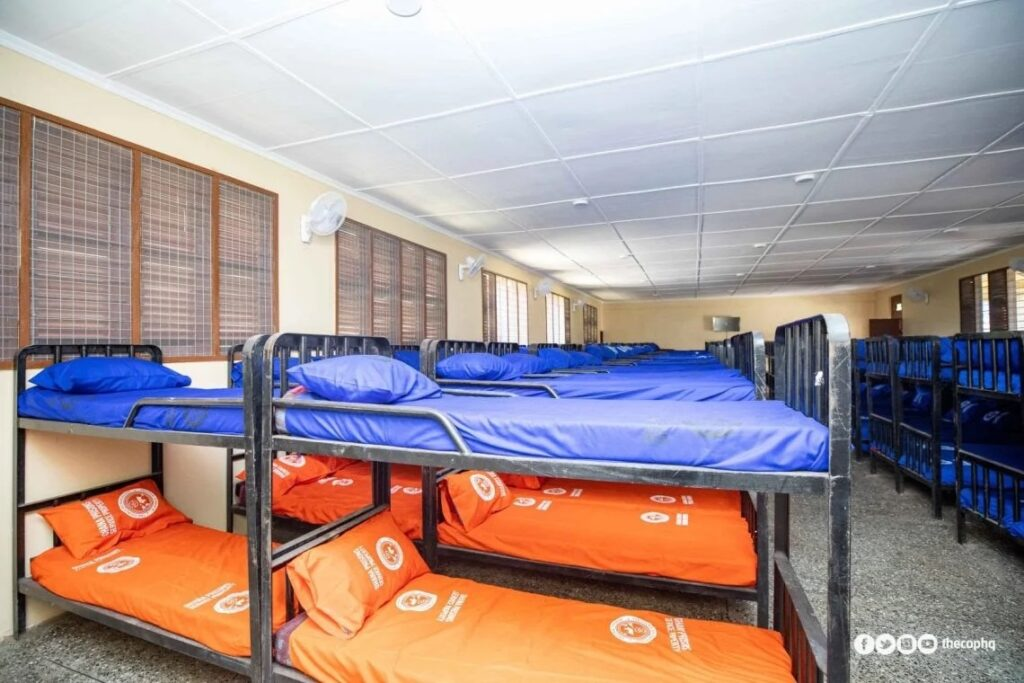 ejura camp prison beds