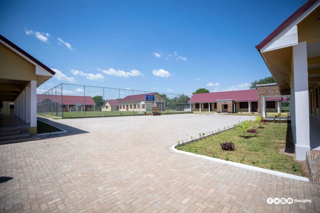 Pentecost prison compound