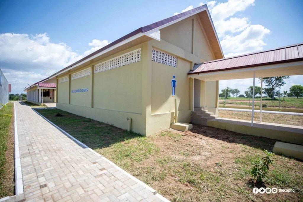 Pentecost prison washroom facility