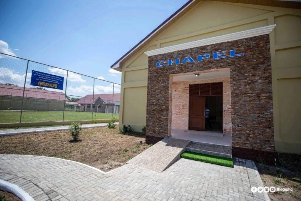 Pentecost baptistry at Ejura camp prison