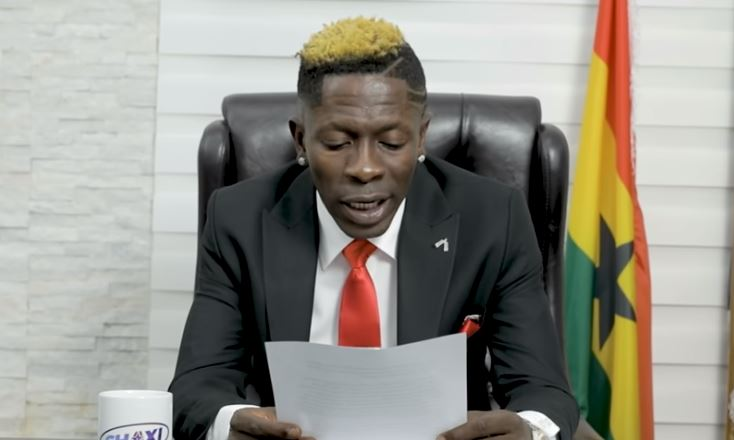 State of industry address Shatta Wale