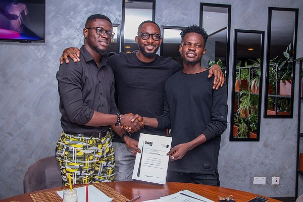 Faqmeye signs contract with OGB Music