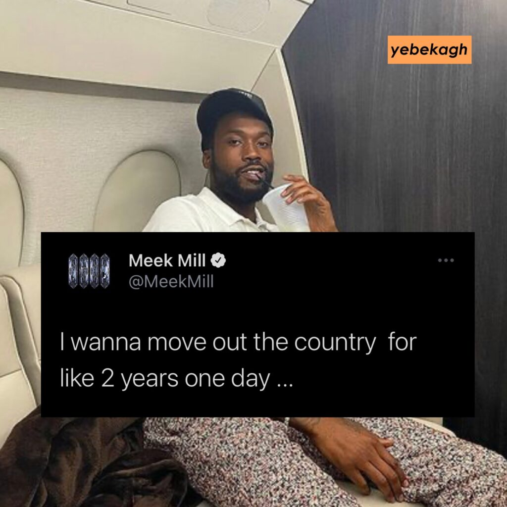 Meek Mill wants to move out of Philadelphia, U.S