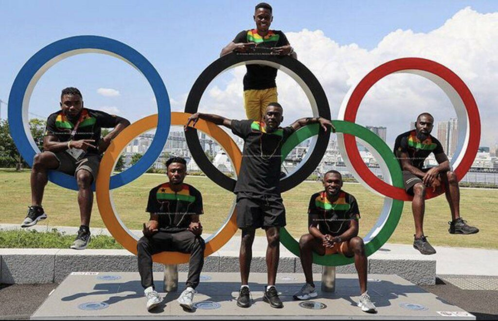 Ghana Athletic team
