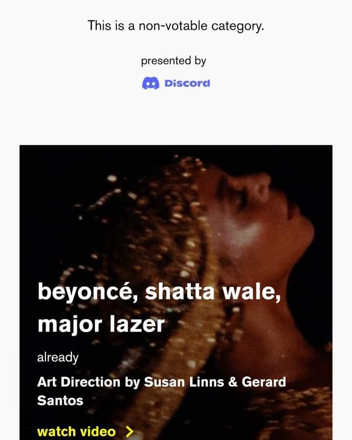Shatta VMA nomination
