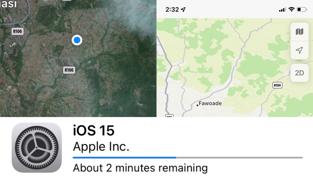 The new iOS 15 features
