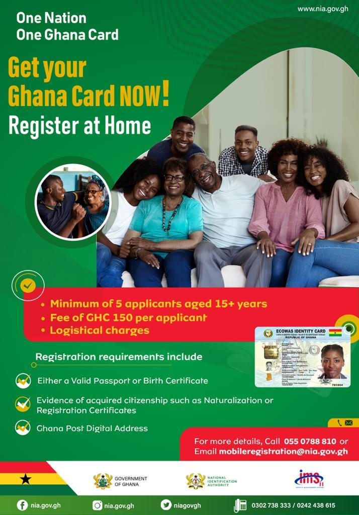 Register Ghana Card At Home